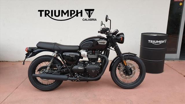 Triumph Bonneville T100 Black Nuova Triumph Calabria Concessionario